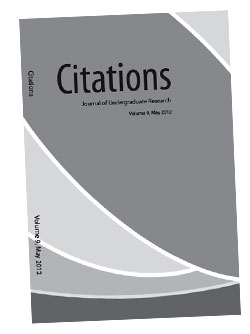 Citations 2012 - Journal of Undergraduate Research
