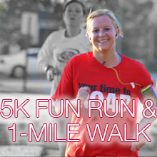 5K Fun Run and 1-mile Walk